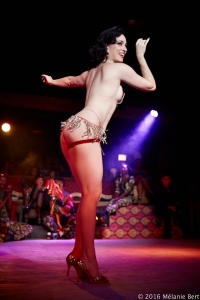 ROOM 111 : a burlesque and variety show by Michelle L'Amour for Untitled Supper Club